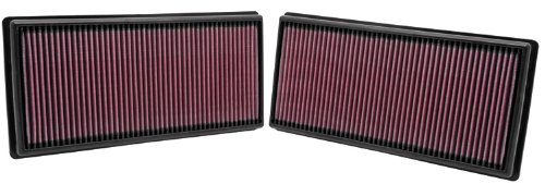 K&N 33-2446 High Performance Replacement Air Filter - Pack of 2