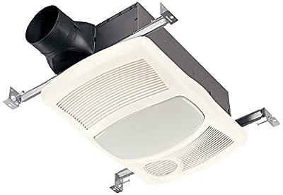 Broan 765HL Ventilation Fan w/ Directionally-Adjustable Heater & Light (100W Incandescent Lighting)