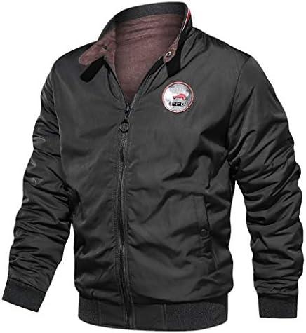 [해외]HDGTSA Men`s Zipper Leather Jacket Vintage Stand Collar Motorcycle Biker Faux Leather Coat Outwear / HDGTSA Men`s Zipper Leather Jacket Vintage Stand Collar Motorcycle Biker Faux Leather Coat Outwear(D Black,L)