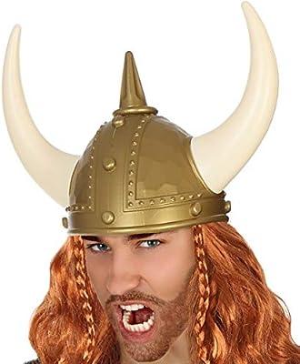 Fancy Me Sombrero para Disfraz de Vikingo histórico para Adultos ...