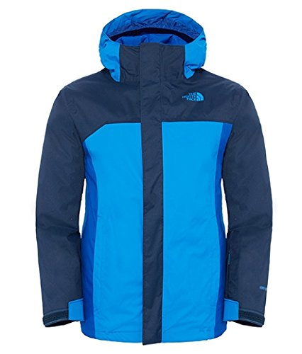 The North Face Boundary Triclimate Boys Ski Jacket - Medium/Cosmic Blue by The North Face