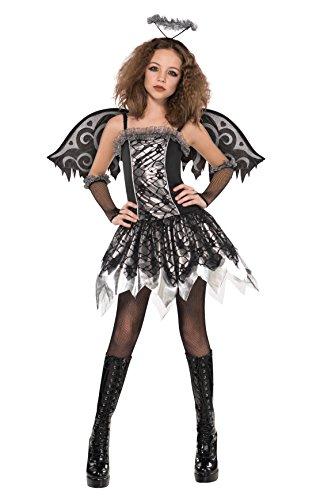 Fallen Angel Halloween Costume For Girls (12 - 14 Years Girl's Fallen Angel Costume)