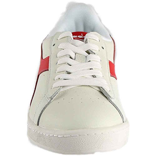 160821 L Rosso Diadora Red 501 Waxed dress fiery 01 White Low Game Blues C7210 aqXx6g