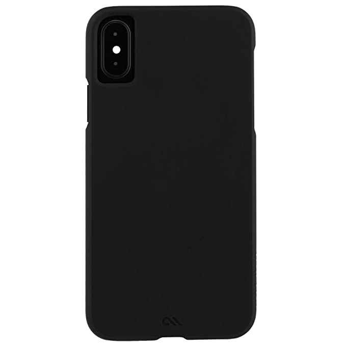 separation shoes 9f9e9 ee528 Case-Mate iPhone X Case - BARELY THERE - Ultra Thin - Design for Apple  iPhone 10 - Black - CM036240
