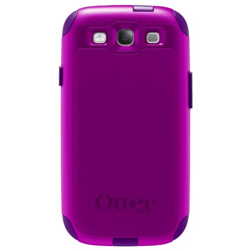 OtterBox Commuter Series Case for Samsung Galaxy S III - Purple (Box Otter S3 Case)