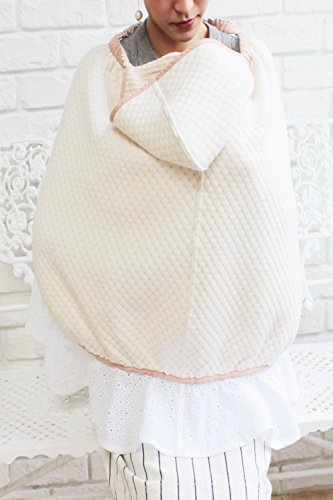Sweet Mommy Maternity and Nursing 3-in-1 Cotton Baby Cover Brown, F by Sweet Mommy (Image #3)