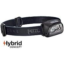 PETZL - TACTIKKA Headlamp, CORE 350 Lumens, with ACCU CORE, Black