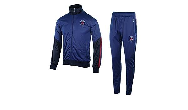 Chándal PSG Logo azul, Hombre, azul, S: Amazon.es: Deportes y aire ...