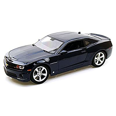 Maisto Chevy Camaro SS RS, Blue 31173 - 1/18 Scale Diecast Model Toy Car: Toys & Games