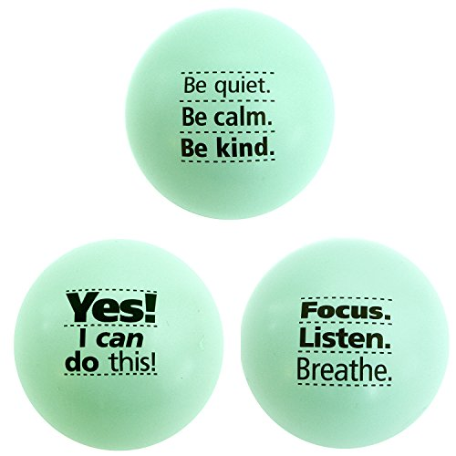 Custom Stress Ball (Teach Peach Assorted Motivational Stress Balls, Fun Fidget Toys for Kids, Teenagers, and Adults, Perfect Unique Gift Idea, Green 3)