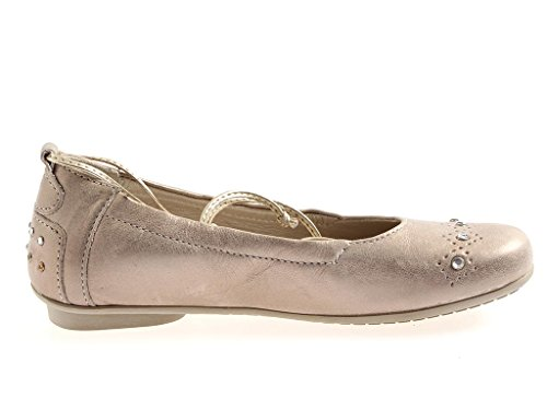 Ballerines chaussures cuir Chaussures elegante No en Beige demoiselles Perche ballerines pour Communion vwBafgqE