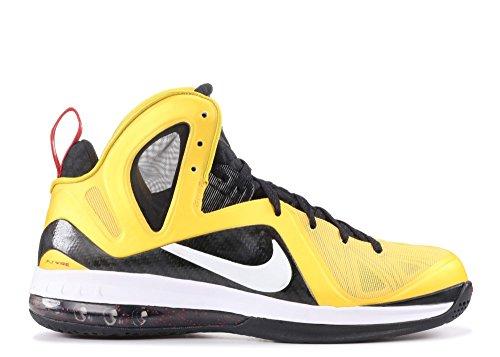Nike Lebron 9 Ps Elite Mens Scarpe Da Basket 516958-700 Giallo / Nero