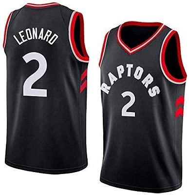 MTBD Camiseta de Baloncesto para Hombre - NBA Toronto Raptors # 2 Kawhi Leonard Swingman Edition Camiseta de Baloncesto Ropa Deportiva de Unisex