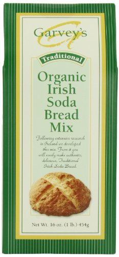 Garvey's Organic Traditional Irish Soda Bread Mix, 16-Ounce Boxes (Pack of - 16 Baking Soda Oz Box