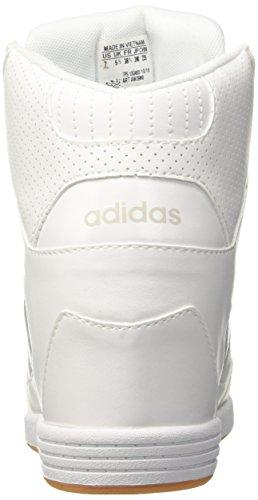 adidas Super Wedge W, Zapatillas de Deporte para Mujer Blanco (Ftwwht/Ftwwht/Peagre)