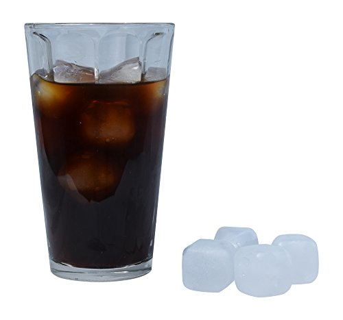Get (30 pc) White Reusable Ice Cubes + Non Toxic, Refreezable Plastic BPA Free Ice Cubes opportunity