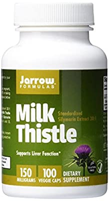 Jarrow Formulas Milk Thistle 150 mg Caps