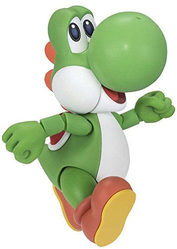 S.H. Figuarts Super Mario Yoshi about 110mm PVC & ABS-painted action figure