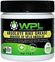 WPL Absolute Bicycle Grease - All-Purpose Bike Grease and Lube for Pedals, Forks, Chains, and Wheel Bearings