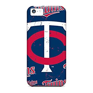 Hard Plastic Iphone 5c Case Back Cover,hot Minnesota Twins Case At Perfect Diy
