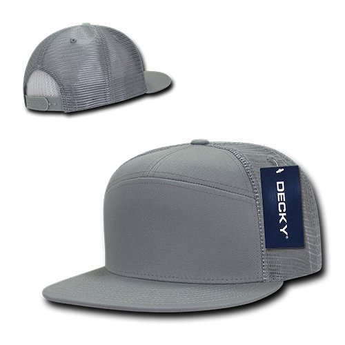 8820d42b78628 Amazon.com   DECKY 7 Panel Trucker Cap