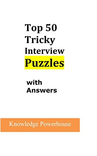 Download Top 50 Tricky Interview Puzzles with Answers ebook