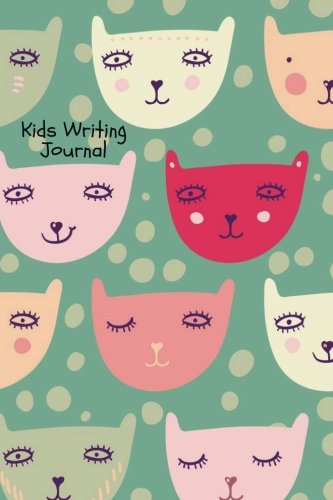 Download Kids Writing Journal: Cats Design Childrens Lined Journal With Drawing Boxes  Draw, Write, Doddle, Diary, Jotter, Ruled  100 Pages  6X9 inches Small Notebook (Kids Collection) (Volume 17) PDF