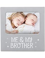 Tiny Ideas 'Me & My Sister' Sentiment Keepsake Frame, Gift For Sister, Big Brother Big Sister Gifts