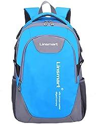 Linsmart Large Space Lightweight School Backpack Book Bag for Boys