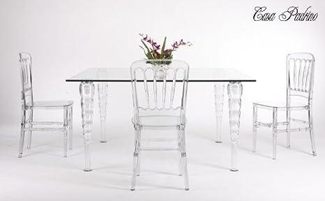 Amazon Com Casa Padrino Designer Esszimmer Set Ghost Dining