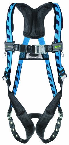 Miller Titan by Honeywell AC-QC2/3XLBL AirCore Full Body Harness, 2X-Large/3X-Large, Blue - Titan Full Body Harness