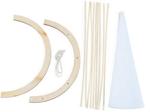 Darice 9184-11 Wood Tepee Kit