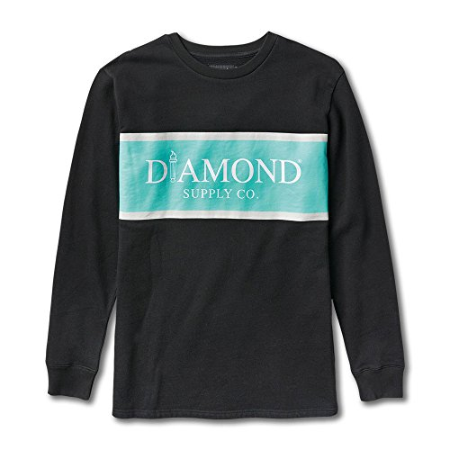 Diamond Supply Co Mayfair Sweatshirt Black by Diamond Supply Co