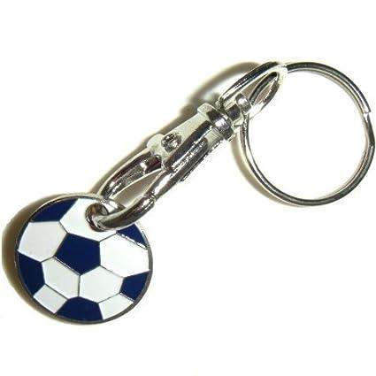 2 x llavero con moneda para carro de balón de fútbol con ...