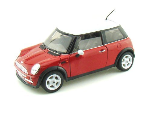 Red Mini Model - Mini Cooper Red 1:24 Diecast Model Car