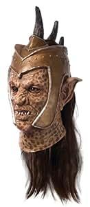 Sucker Punch Deluxe Orc Overhead látex máscara de disfraz para adultos
