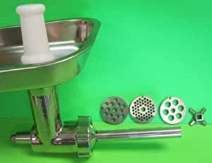STAINLESS STEEL Meat Grinder Food Chopper Attachment for Kitchenaid mixer