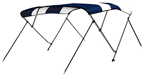 (Leader Accessories Two Tone Navy Blue 3 Bow 6'L x 46