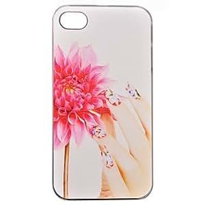 MOFY- caso duro ultra fino de moda relievo pc para el iphone 4 / 4s
