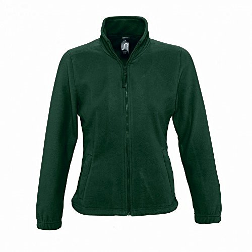 Verde Con In Pile Donna Felpa Foresta Sols Zip CqUppY