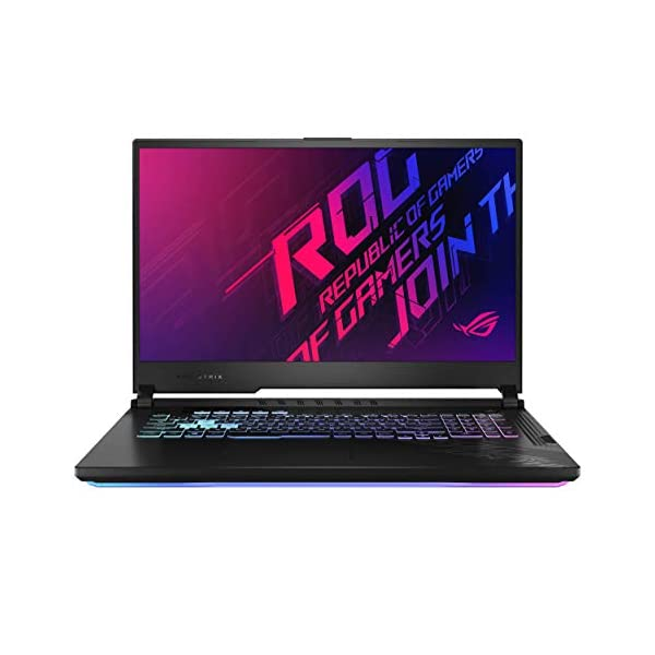 "ASUS ROG Strix G17 17.3"" FHD 120Hz Intel Core i7-10750H 10th Gen, GTX 1660Ti 6GB Graphics (16GB RAM/512GB NVMe SSD/Windows 10/Original Black/2.83 Kg), G712LU-H7015T + Xbox Game Pass for PC - - Laptops4Review"