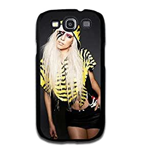 Tomhousomick Custom Design Women's Fashion Cases Sexy Singer Lady Gaga Case for Samsung Galaxy S3 Back Cover #240