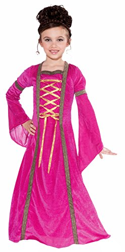 Forum Novelties Pink Velvet Princess Child's Costume, Large (Pink Velvet Princess Costume)
