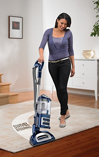 Large Product Image of SharkNinja Navigator Lift-Away Deluxe NV360 Upright Vacuum, Blue