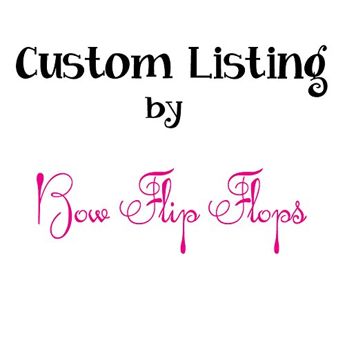 Horseshoe Glitter - Glitter Horseshoe Button Flip Flops