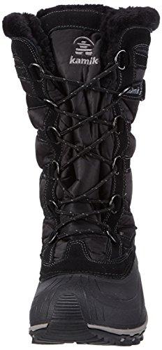 Kamik BLACK Snowvalley Mujer para Schwarz Negro BK2 Botines zv8qznx0O