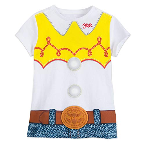 Disney Jessie Costume T-Shirt for Girls - Toy Story Size XS (4) Multi