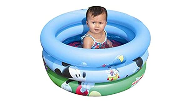 Mickey Ratón Mickey Mouse piscina inflable 70 x 30 cm playa ...