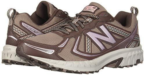 New Balance Women's 410v5 Cushioning Trail Running Shoe, Latte/Macchiatto/Himalayan Pink, 5.5 B US