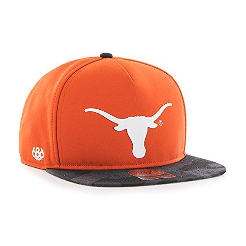 NCAA Texas Longhorns Crispy Snapback Cap, One Size, Texas Or